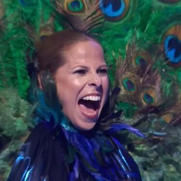 ¡Menudo 'Pavo Real' tiene la tía! Pastora Soler, desenmascarada, se queda a las puertas de la final de 'Mask Singer'