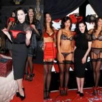 Dita Von Teese lanza su colección de Wonderbra en Milán