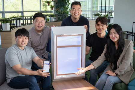 """Samsung inventó una ventana falsa """"inteligente"""" que es capaz de generar luz solar artificial"""