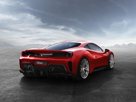 Ferrari 488 Pista trasera
