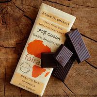 FairAfric, el chocolate orgánico producido totalmente en África