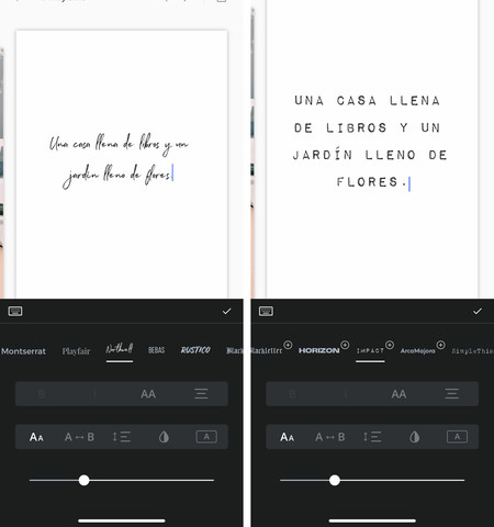 Unfold Cambiar Tipografias En Stories De Instagram