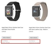 Las fechas de envío para el Apple Watch no serán iguales para todos los modelos