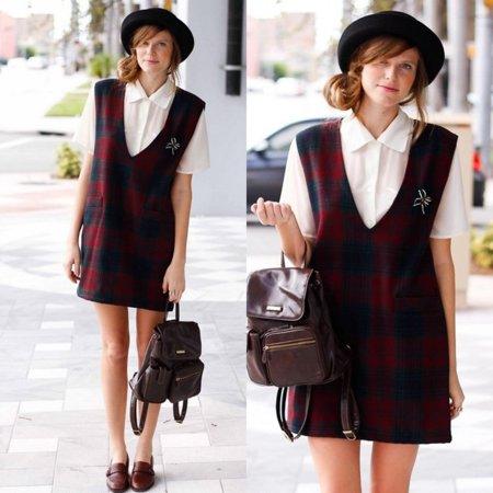 Tartán Moda en la calle