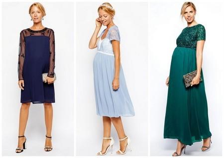 donde puedo comprar descuento especial de estilo de moda Moda embarazadas: vestidos para una boda de otoño