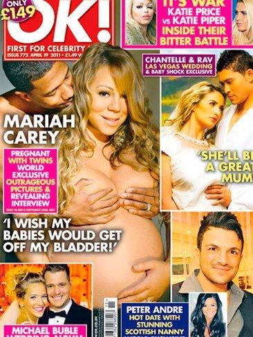 Mariah Carey, igual lo de enseñar la panza se te ha ido de las manos