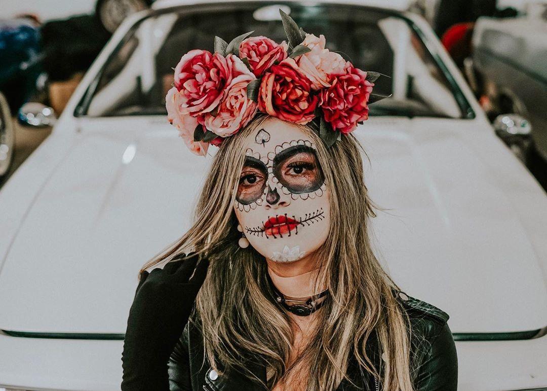 Cómo Hacer El Maquillaje De Calavera Mexicana Fácil Y Rápido
