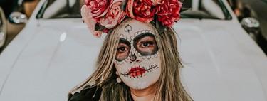 No te compliques este Halloween: 13 maquillajes de calavera mexicana fáciles, rápidos y preciosos