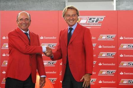 Santander consigue duros a peseta de Ferrari