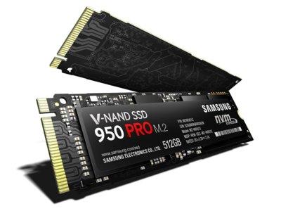 Relevo generacional: las SSD Samsung 950 Pro alcanzan velocidades de lectura de 2,5GB/s