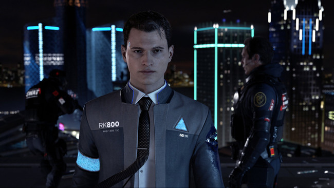 Detroit Become Human Paris Android