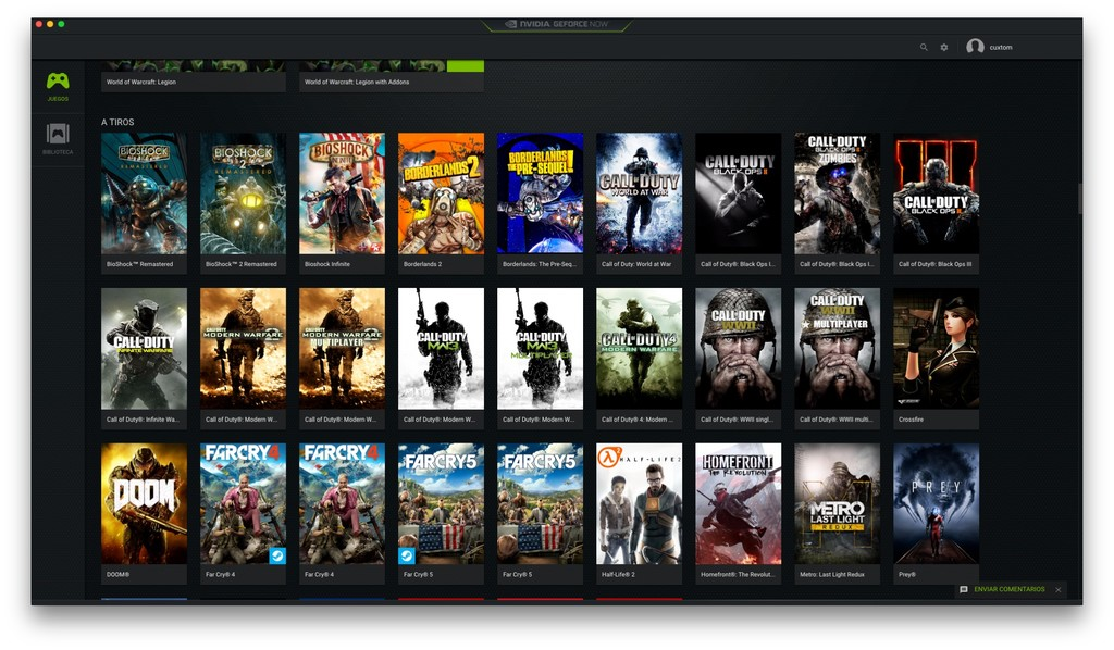 Nvidia Geforce Now 5