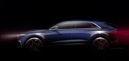 El Audi Q8 E-tron concept se prepara para Detroit