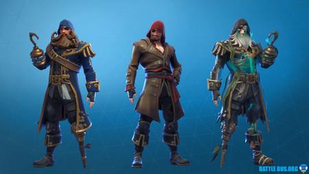 Blackheart Fortnite Outfit Scallywags Set Pirate Season 8
