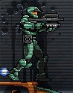 Halo Blood Covenant, el jefe maestro en 2D