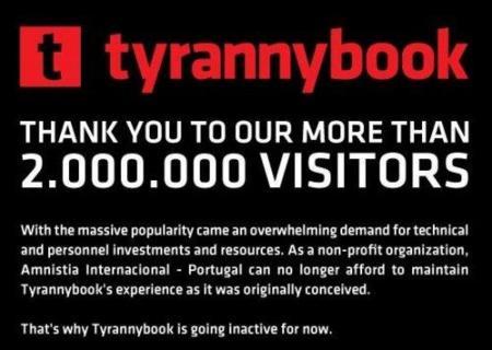 Tyrannybook cierra por falta de recursos