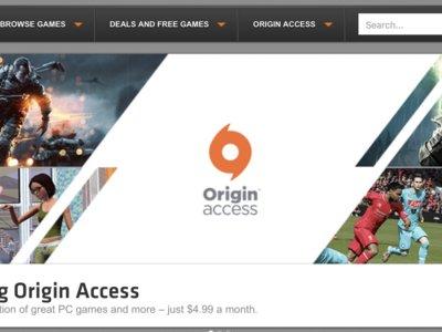 EA lleva su modelo de suscripción de videojuegos al PC con 'Origin Access'