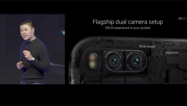 Xiaomi Mi A1 doble cámara
