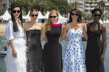 Lupita Nyong'o, Penélope Cruz, Jessica Chastain, Marion Cotillard: el glamour de Cannes también de día