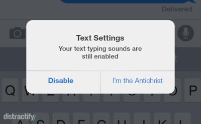 Así serían los avisos de nuestro móvil si fuesen brutalmente honestas. La imagen de la semana