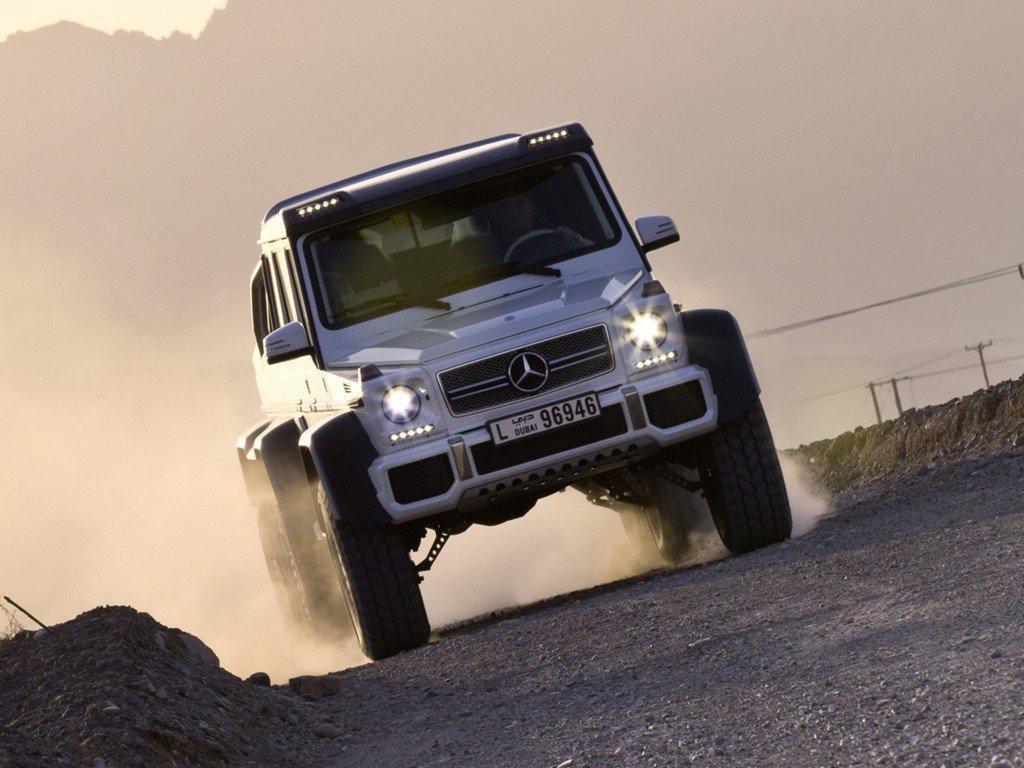 Foto de Mercedes G63 AMG 6x6 (3/13)