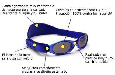 Gafas de sol para bebés