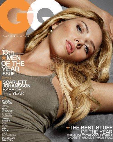 A Scarlett Johansson le nombran chica del año y la enfundan en un bikini ¿qué más pedir?