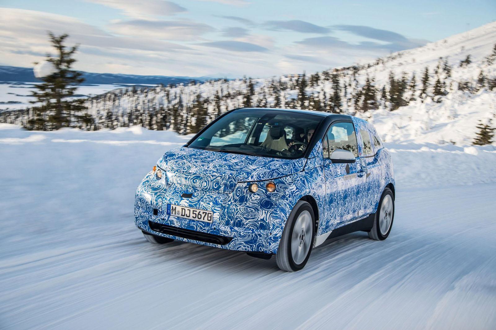 Foto de BMW i3, fotografías en el Círculo polar ártico (2/5)