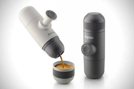 Minipresso, la  máquina para expreso de bolsillo