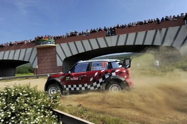 Dani Sordo en el Rally de Cerdeña 2011