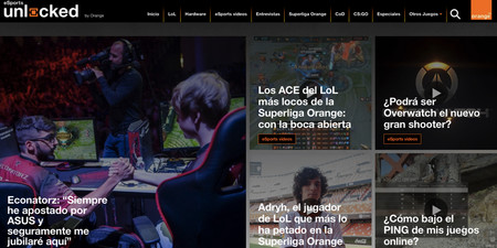 Nace eSports Unlocked, la nueva web de Orange sobre deportes electrónicos