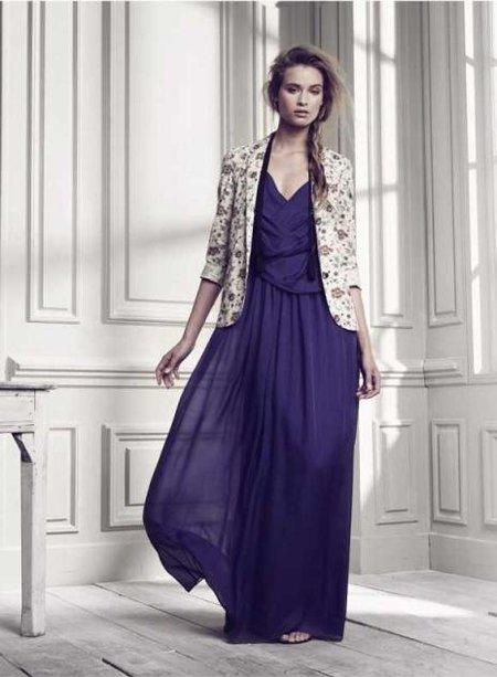 vestido azul hoss intropia