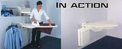 Tabla de planchar para espacios reducidos