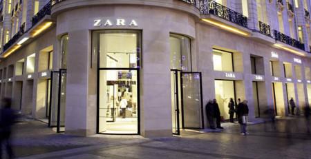 Zara Campos Eliseos Paris Francia tienda