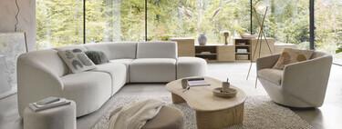 21 ambientes inspiradores de la tendencia deco Bold de Maisons du Monde con formas originales y envolventes