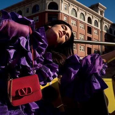 Estos son los bolsos de Valentino que nos llevaríamos a casa vistos en su nueva campaña protagonizada por Kendall Jenner