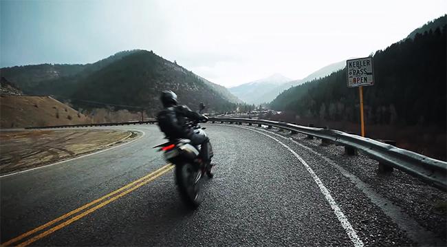RideApart Colorado KTM 990