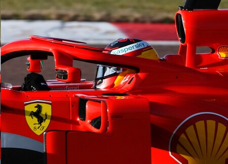Sainz Ferrari F1 2021 2