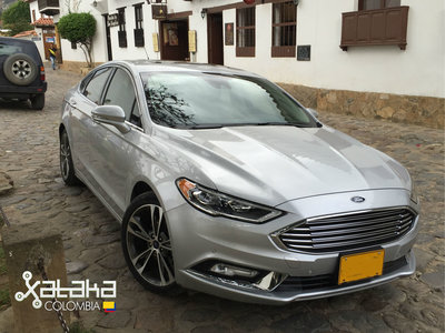 Ford Fusion 2017, el primer vehículo compatible con Android Auto y Apple CarPlay disponible en Colombia