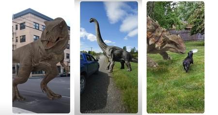 Dinosaurios en 3D con la búsqueda de Google, así puedes montar un Parque Jurásico en tu salón