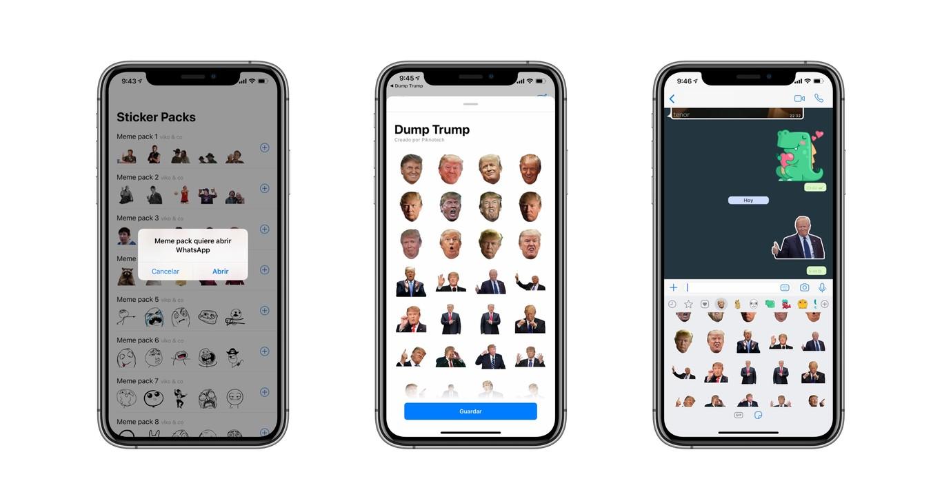 👍 Descarga los nuevos stickers gratis de WhatsApp para iPhone