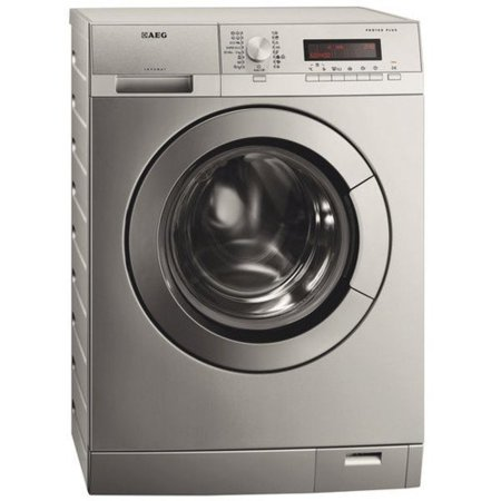 lavadora AEG acero inoxidable