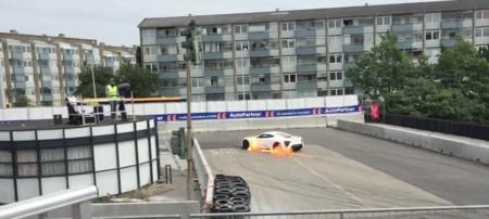Zenvo ST1 se vuelve a incendiar, esta vez en su país natal