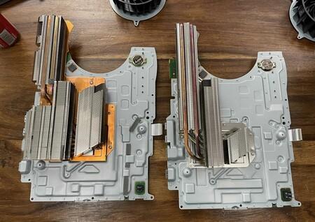"""El misterio de la """"PS5 ligera"""" desvelado: el disipador es más pequeño y eso explica cómo ha """"adelgazado"""" 300 gramos"""