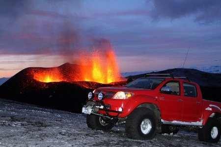 Top Gear Toyota Hilux volcan Islandia