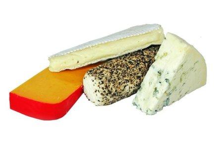 Los quesos agrupados según su contenido de grasas