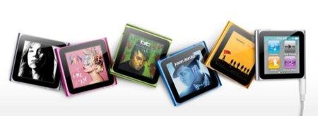 El nuevo iPod nano 6: innovación para escuchar música