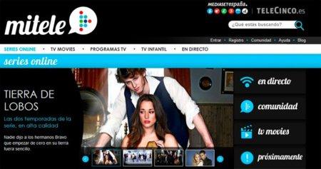 Mediaset ofrece online y gratuitamente algunas de sus series y programas en su nueva web MiTele