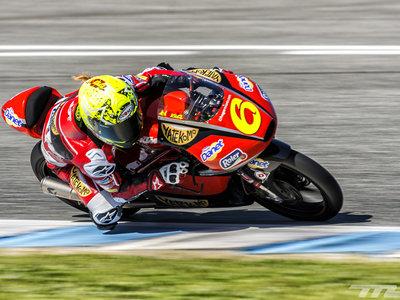 Objetivo: la zona de puntos, el reto de María Herrera para 2017 en Moto3