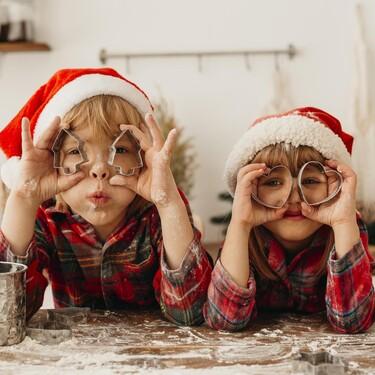17 manualidades de Navidad para hacer con niños y disfrutar de un divertido puente en familia